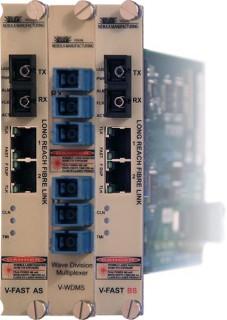 VFAST2x 100 Mbps Ethernet over Fiber